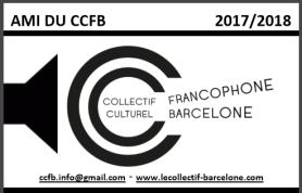 CCFB - Carte Ami 2017-2018 Recto