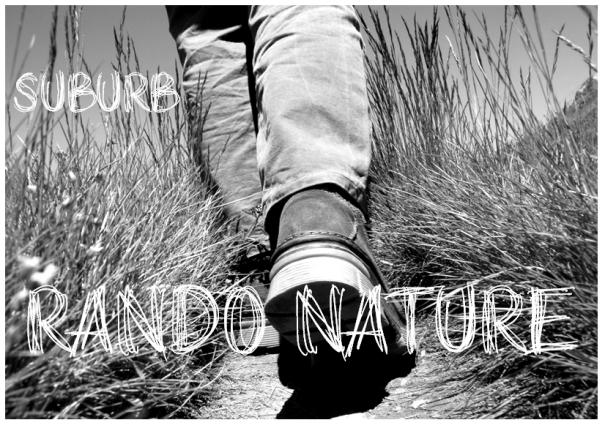 Visuel Suburb - Rando Nature